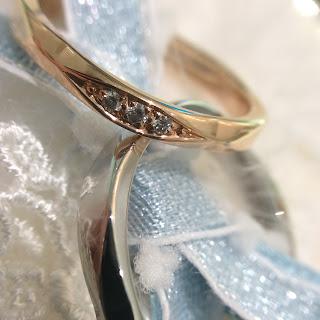 FURRER-JACOT 鍛造 ワルツ ゴールド プラチナ 上品 結婚指輪