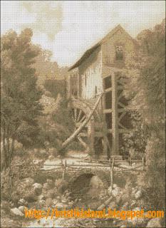 Cross Stitch Pattern of Ensinore Mill