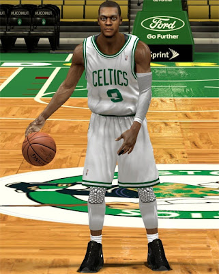 NBA 2K13 Rajon Rondo Cyberface Mod Patches