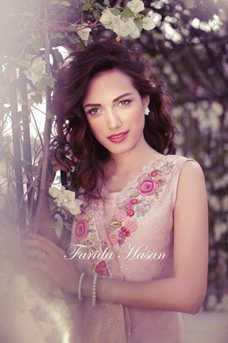 Farida Hasan Summer Collection 2014