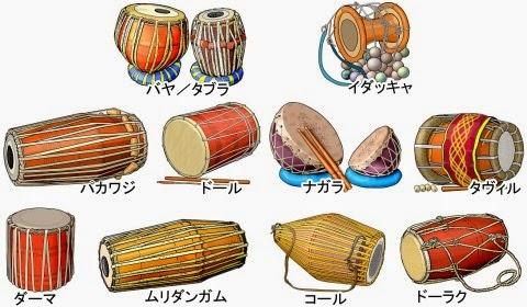インドの太鼓