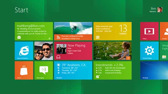 Descargar Windows 8 (Pre-Beta)