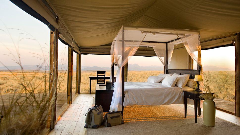 house chic luxury travel wolwedans dunes lodge namibia