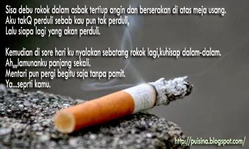 Puisi Sebatang Rokok by Sky Shucaya