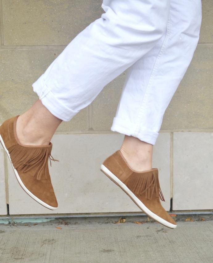 Sanuk Kat Fringe shoes Vancouver blogger