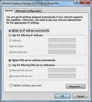 Properties IP LAN Komputer