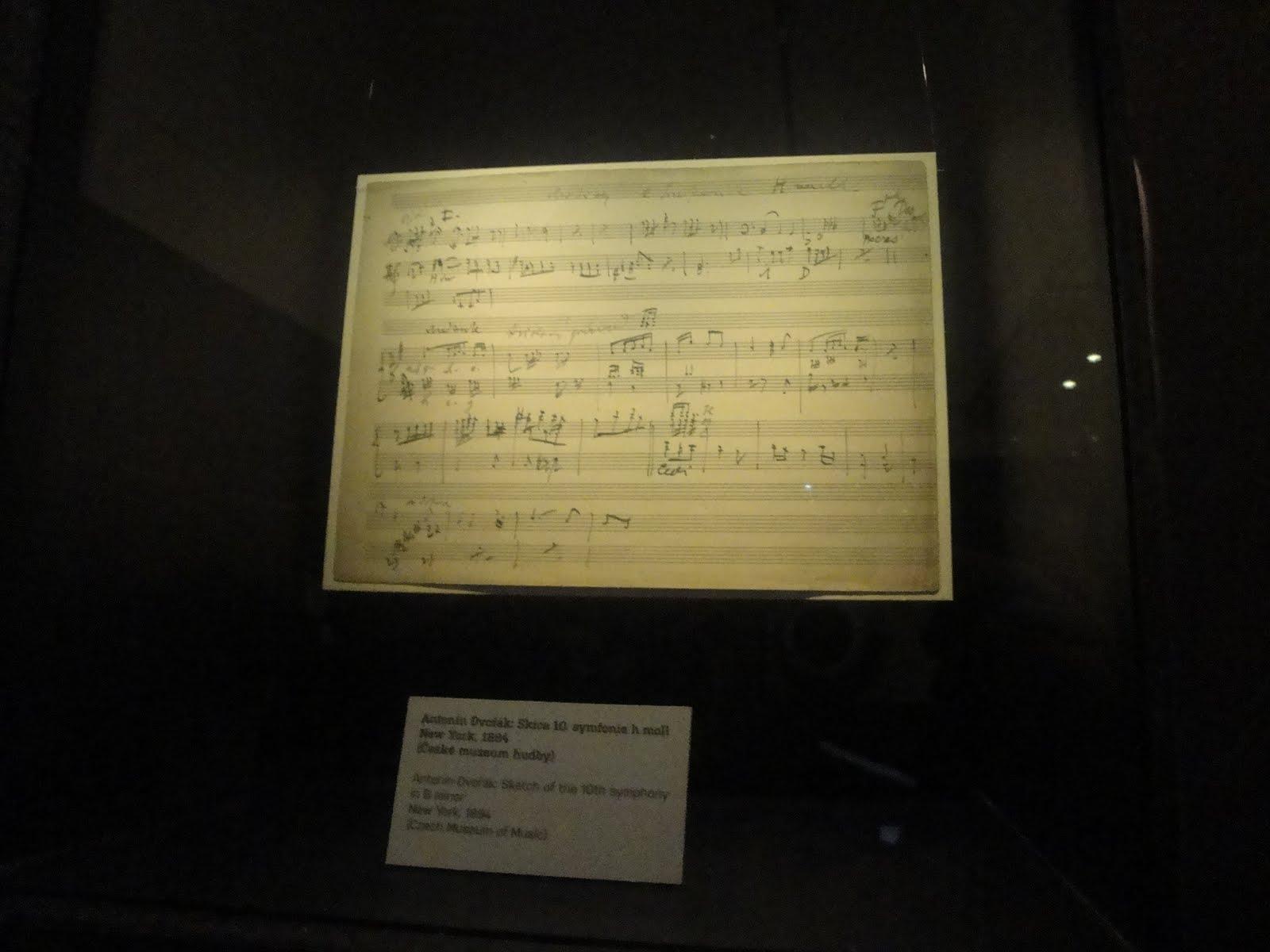Díle antonína dvořáka - pozvánka do českého muzea hudby