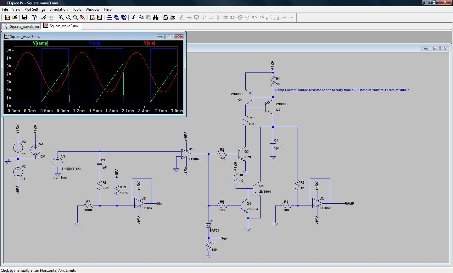 Rants From The Embedded Hardware Guy Diy Audio Function Generator Working Of Circuit Part 1