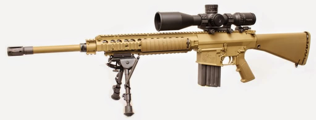 United States Ground Forces: M110 SASS M110 Sniper Rifle Suppressed