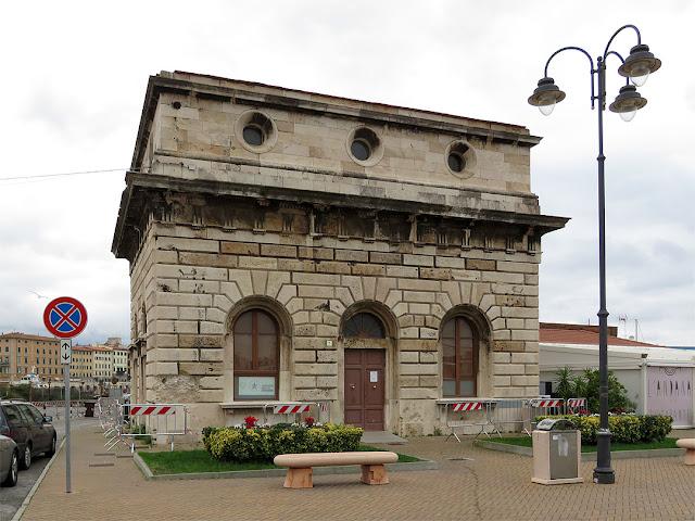 Former Customs building, Piazza dell'Arsenale, Livorno