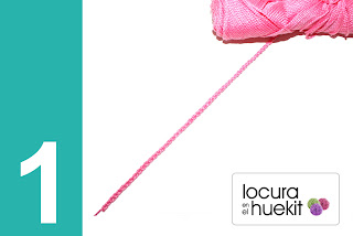 1. Paso a paso flor crochet en relieve