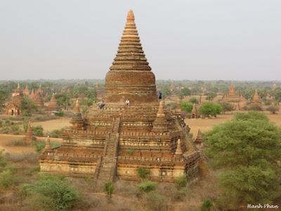 Phượt thủ Việt chia sẻ những đền không thể bỏ qua khi du lịch Bagan
