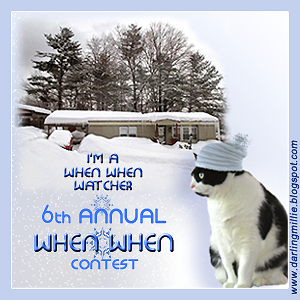I am a When When Contest Enterer!