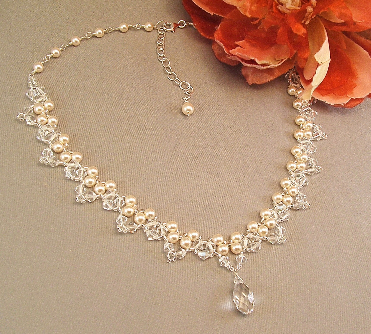 PEARL WEDDING JEWELRY ...