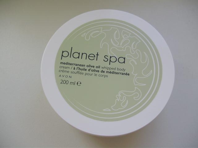 Avon Planet Spa Mediterranean Olive Oil Whipped Body Cream