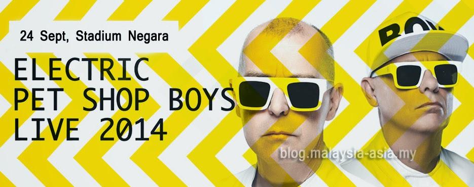 Pet Shop Boys live Malaysia 2014