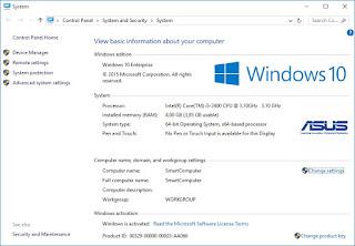 Tambahkan Logo OEM di System Properties Windows 10