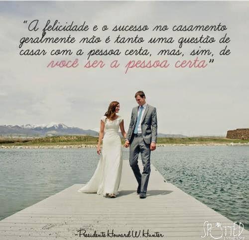 A felicidade e o sucesso no casamento