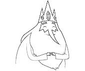 #5 Ice King Coloring Page