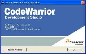 CodeWarrior IDE Freescale