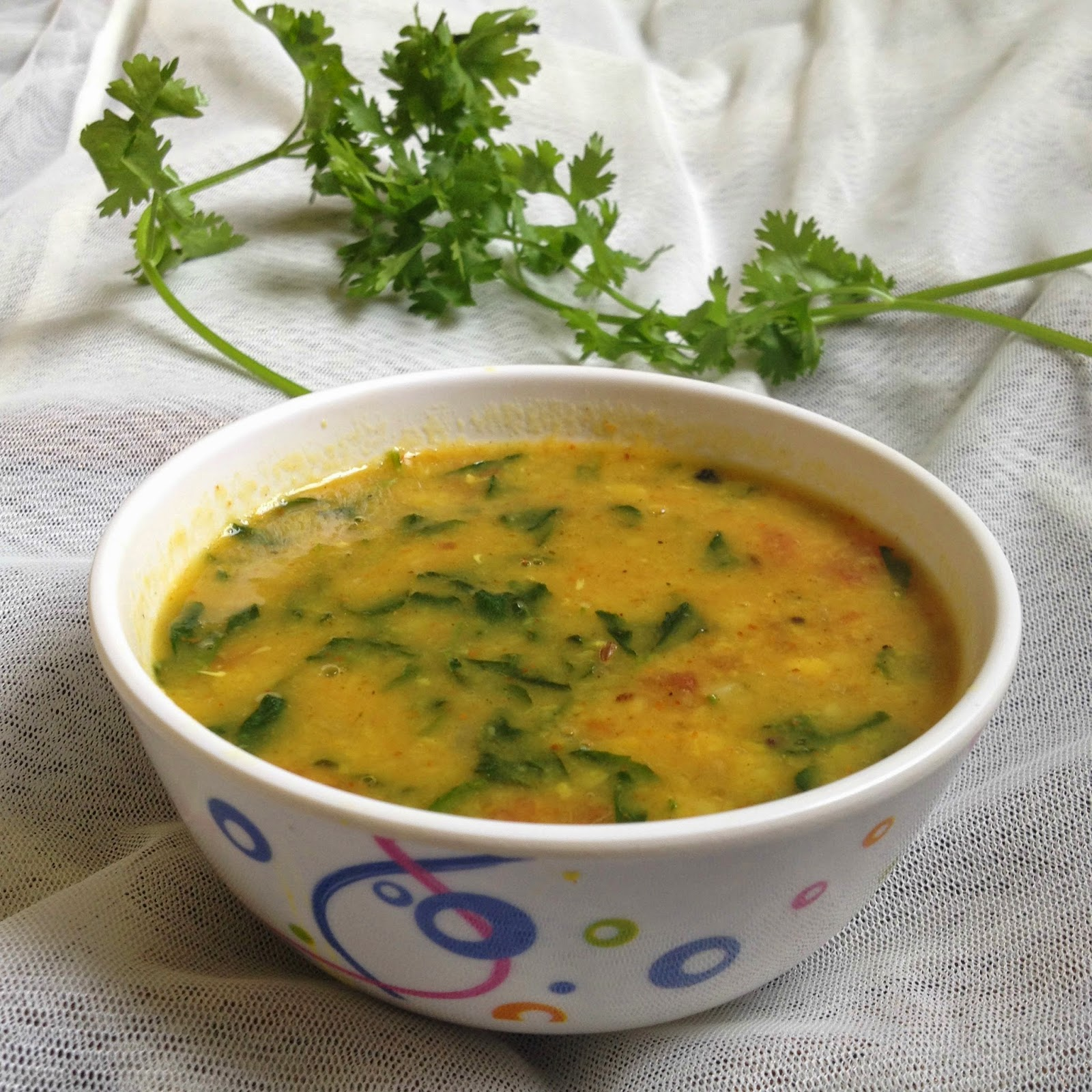 Lemon Kurryvendayakeerai sambhar,methi leaves sambhar ,how to