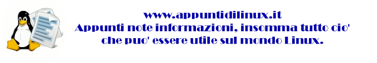Appunti di linux