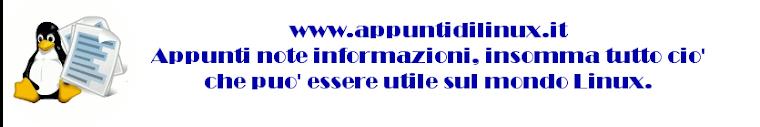 Appunti di linux