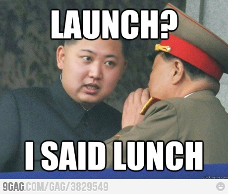 Jokes About Korean Rocket Launch