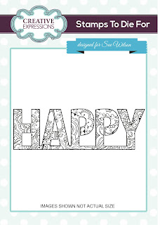 Creative Expressions UMS684 Stamp
