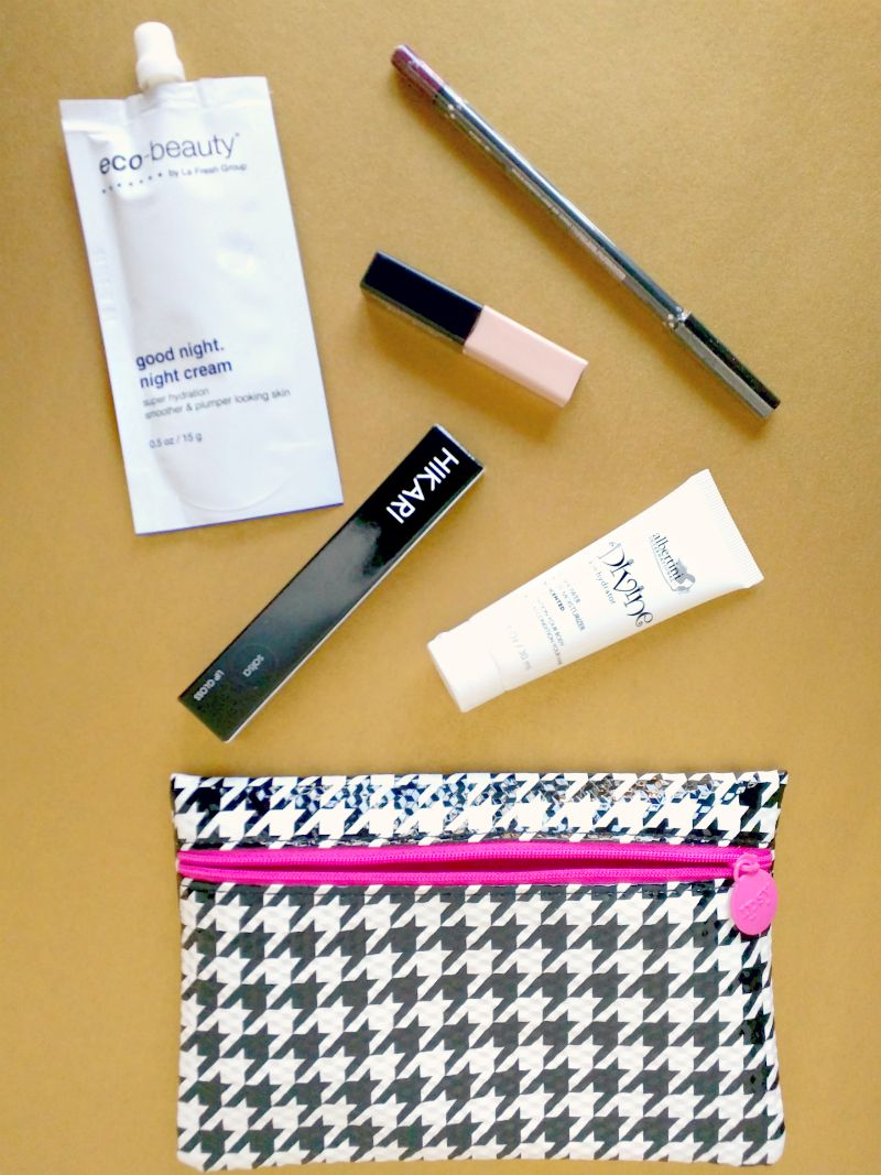 August 2015 Ipsy bag review