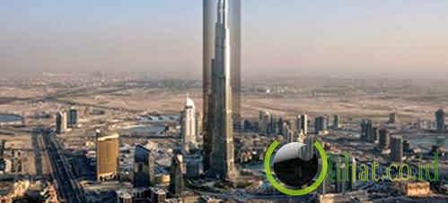 Burj Khalifa Fabric Wrap