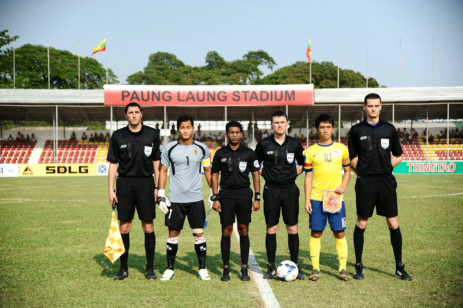 Nay Pyi Taw Myanmar  city images : FIFA Referees News: 2014 AFC Cup – Group Stage