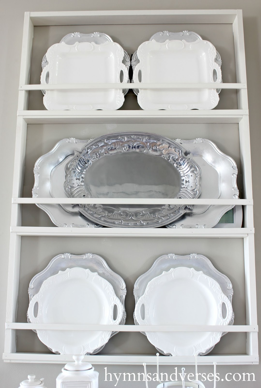 Build Your Own Plate Rack  sc 1 st  Hymns and Verses & Build Your Own DIY Plate Rack - Easy Plans - Hymns and Verses
