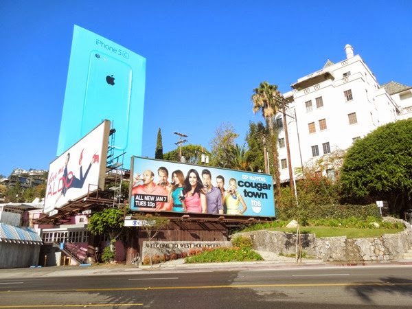 Cougar Town series 5 billboard