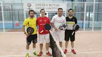 campeones de pádel XXV TORNEO INTERPUEBLOS 2015