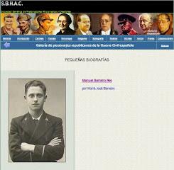 Manuel en las biografias de la S.B.H.A.C.