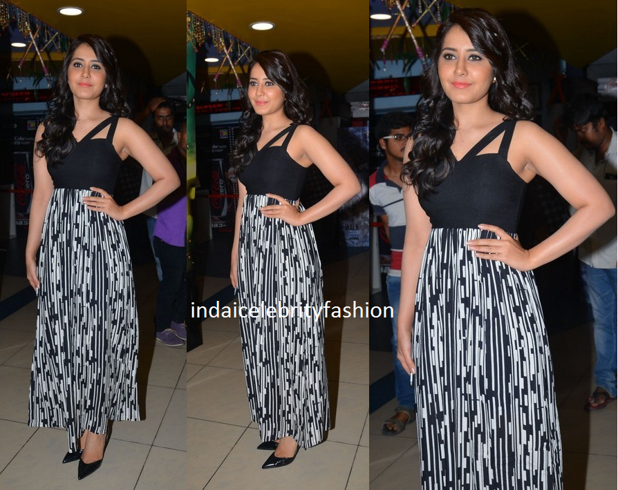 Raashi Khanna in Vinegar Fashion India Maxi