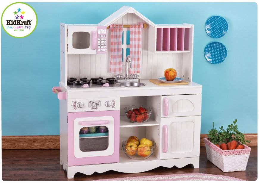 Kidkraft Large Pastel Kitchen Kidkraft Large Pastel Kitchen 53181 1 ...