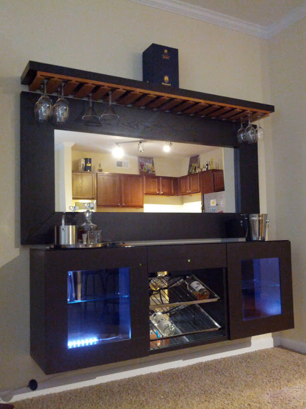 Wall Bar Cabinet Ideas
