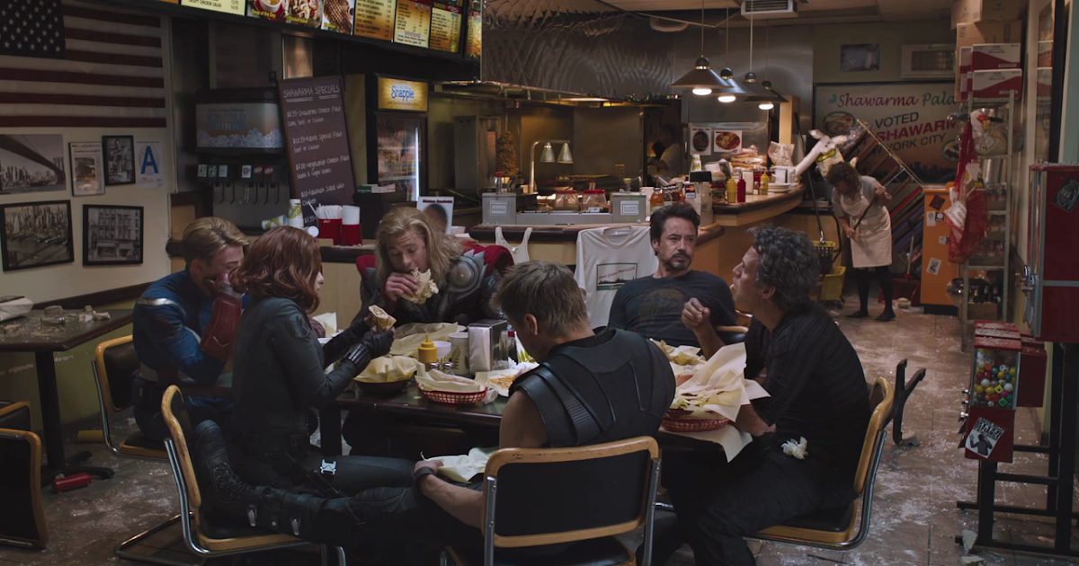 Shawarma Avengers