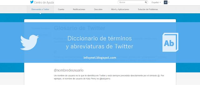 Diccionario de términos y abreviaturas de Twitter