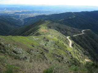 View south from Glendora Mountain (3322'), Angeles National Forest