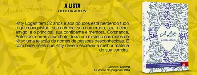 A Lista Cecelia Ahern
