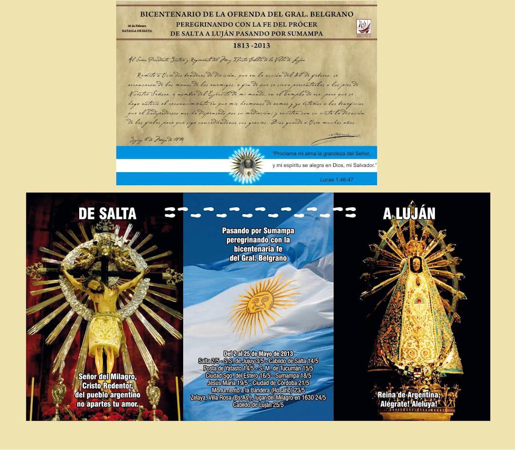 BICENTENARIO DE OFRENDA BELGRANIANA