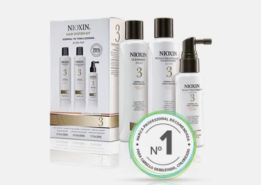Sistema 3 pasos Nioxin