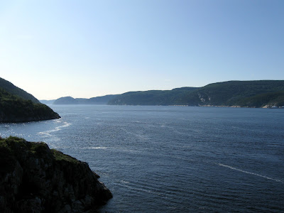 Near the mouth the of Saguenay Fjord