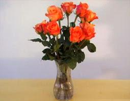Cách bó hoa hồng 01