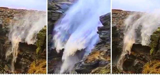 Hipernovas: A cachoeira cuja a água sobe ao invés de cair (Vídeo)