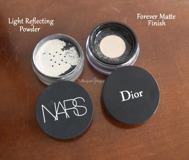 Dior Forever Matte Powder vs Nars Light Reflecting Powder Review