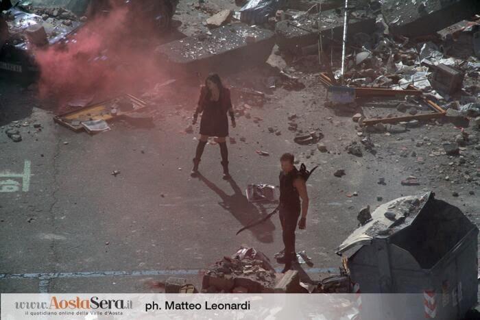 """Foto de Elizabeth Olsen como la Bruja Escarlata en """"Los Vengadores: La Era de Ultron"""""""